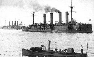 Bayan-class cruiser - Image: Bayan&Admiral Makarov 1912 1914