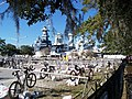 Beach 2 Battleship Ironman Triathlon 2009 Transition 2 - panoramio.jpg