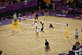 Beach volleyball at the 2012 Summer Olympics (7925438924).jpg