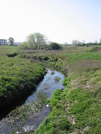 Dagenham - The River Beam in the south of Dagenham