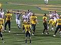 Bears flagged for false start at USC at Cal 2009-10-03.JPG