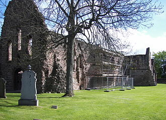 Beauly Priory - Image: Beauly Priory outside