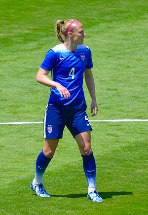 Becky Sauerbrunn - Sauerbrunn in 2015