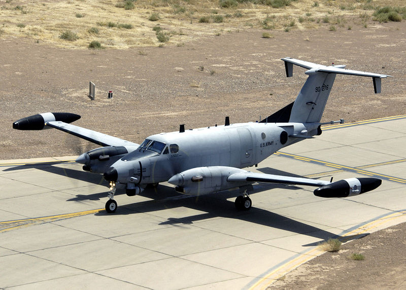 File:Beechcraft RC-12P.jpg