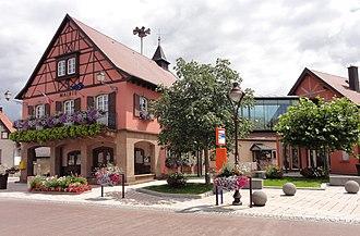 Beinheim - Image: Beinheim Mairie (1)