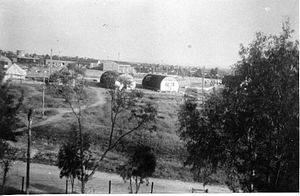 Bayt Daras - Israeli army camp at Bayt Daras, 1948