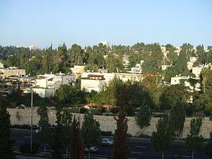 Beit HaKerem, Jerusalem - Beit HaKerem, view from east