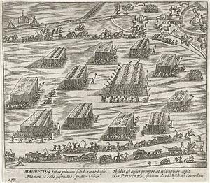 Siege of Coevorden (1593) - Image: Beleg van Coevorden (1593 1594)