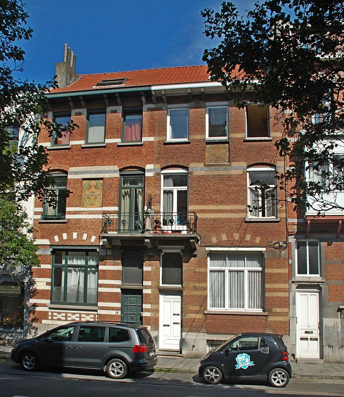 Maisons hanssens wikip dia for Maison minimaliste belgique