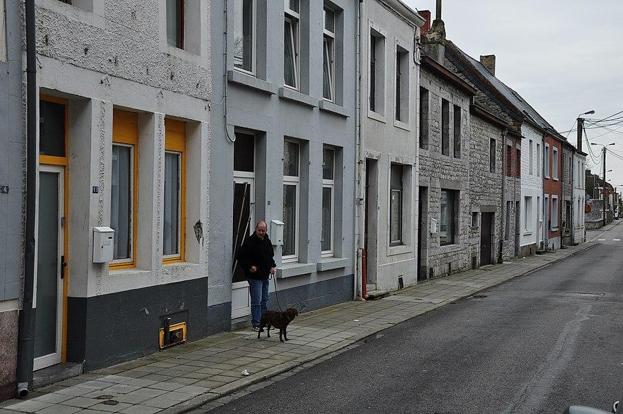 Rue du Moulin (Mill Street) in Philippeville, Belgium.