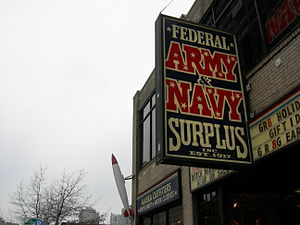 Federal Army and Navy Surplus (Alaska outfitte...