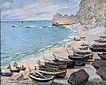 Bemberg Fondation Toulouse - Bateaux sur la plage à Etretat - Claude Monet - 1883 65x81 Inv.2077.jpg