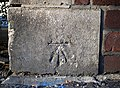 Bench Mark, Belfast - geograph.org.uk - 1743347.jpg