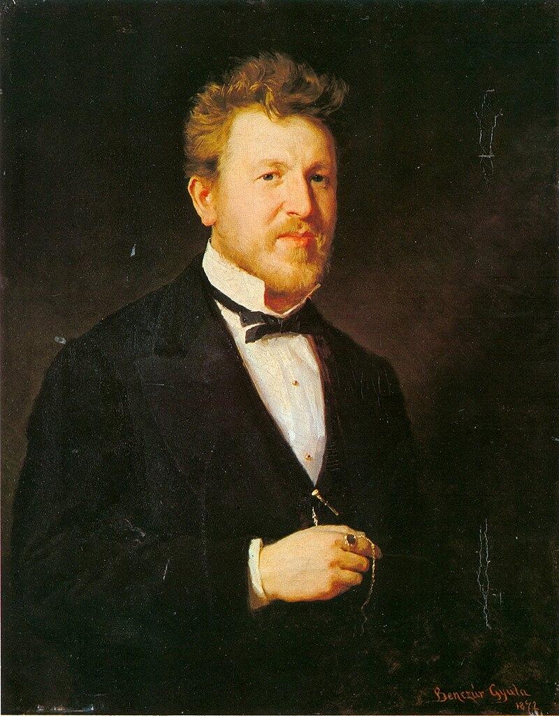 Benczúr Portrait of Ödön Éder 1872.jpg
