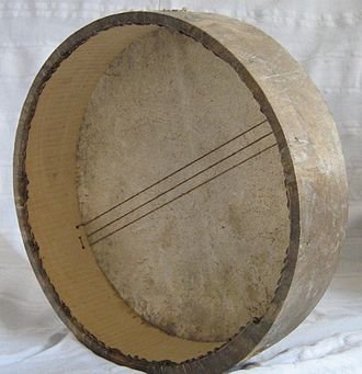 Bendir - Tunisian bendir with snares