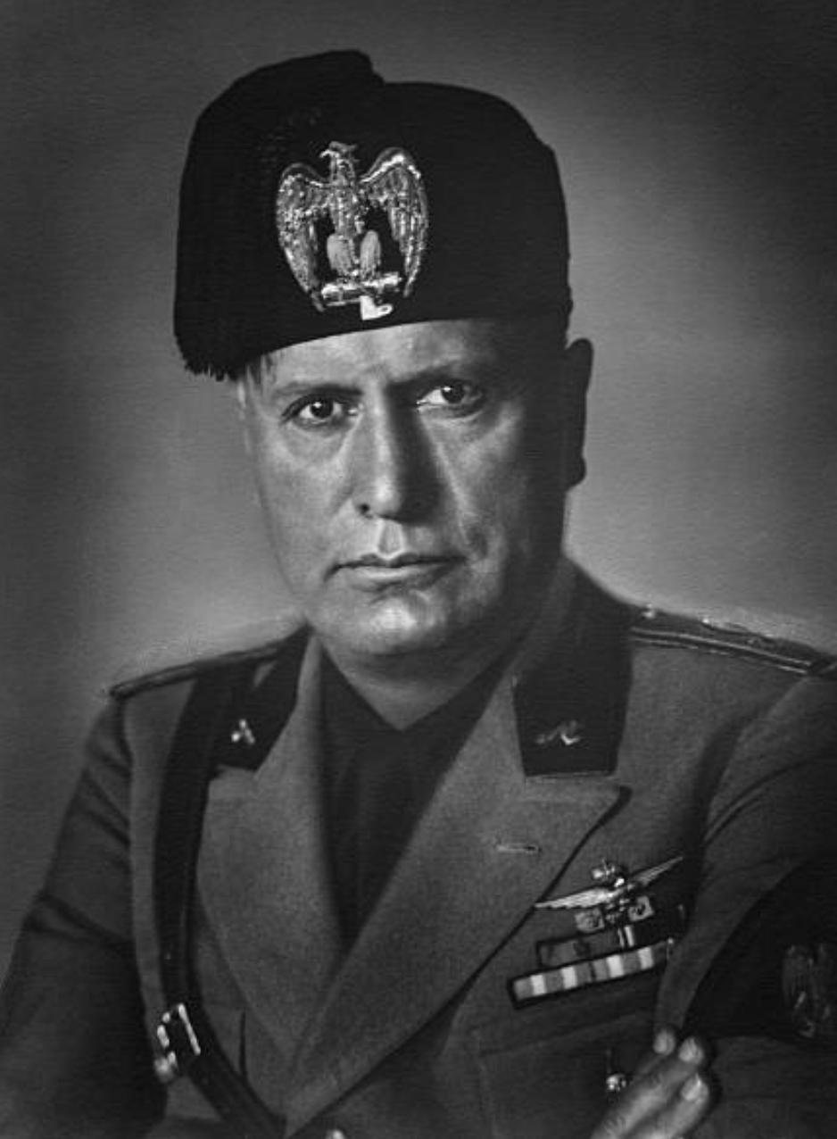 Benito Mussolini 1930