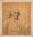 Benjamin West; portrait. Drawing, c. 1798, after B. West. Wellcome V0009204.jpg