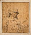 Benjamin West; portrait. Drawing, c. 1798, after B. West. Wellcome V0009204.jpg