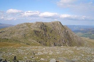 Aran Benllyn mountain in United Kingdom