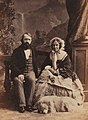 Beresford Hope, Alexander & Mildred (Silvy, 1860).jpg