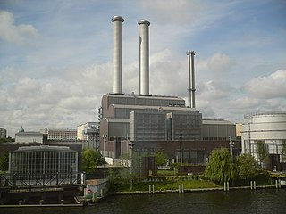 Gas-fired power plant One or more generators which convert natural gas into electricity