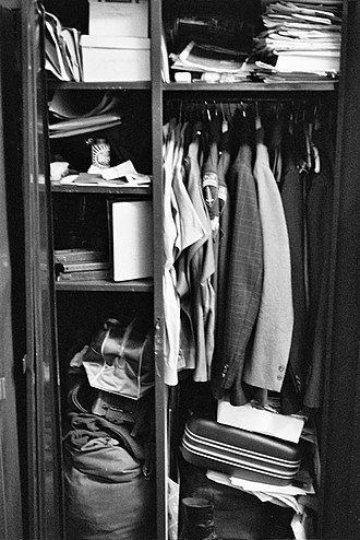 Berlin Brigade - Contrasting roles of the Berlin troops—1970 soldier's jammed locker includes uniforms for variety of duties along with big-city dress clothes.