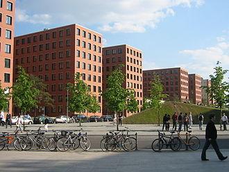 Giorgio Grassi - Building complex at Potsdamer Platz, Berlin (1993).