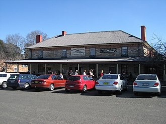 Southern Highlands (New South Wales) - Berrima's Surveyor General Inn that was established in 1834.
