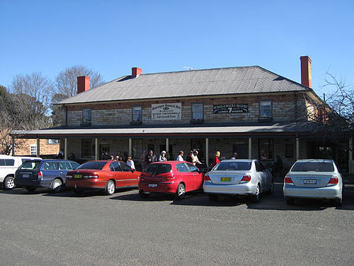 Berrima's Surveyor General Inn that was established in 1834. Berrima pub.jpg