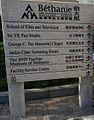 Bethanie chapel 伯大尼禮拜堂 Pofulam 伯大尼修道院 HK APA campus sign 02.jpg