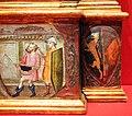 Bicci di lorenzo, annunciazione tra i ss. michele, giacomo minore, margherita e giovanni e., 1414 (stia, s.m. assunta) 08.JPG