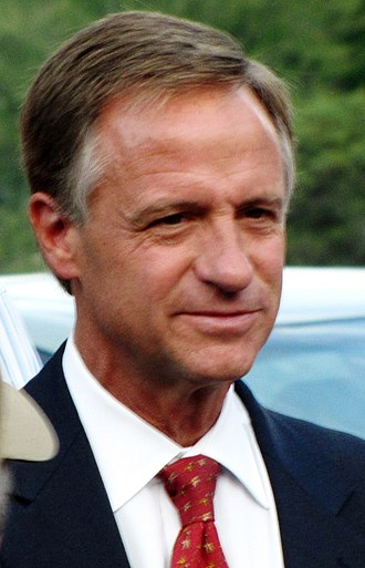 2010 Tennessee gubernatorial election - Image: Bill haslam highlands debate tn 1 (cropped)