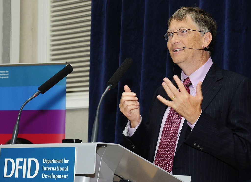 Bill Gates speaking at DFID (5093072151).jpg