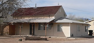 National Register of Historic Places listings in Graham County, Arizona - Image: Bingham house (Safford AZ) from NE 2