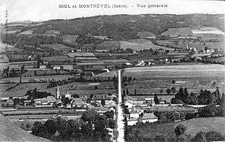 Montrevel, Isère Commune in Auvergne-Rhône-Alpes, France