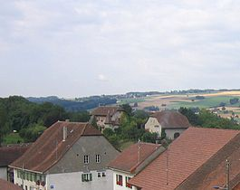 Bioley-Magnoux - Bioley-Magnoux village and castle