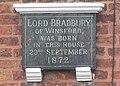 Birthplace of Lord Bradbury of Winsford - geograph.org.uk - 243088.jpg