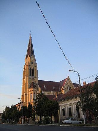 Deta, Romania - Roman Catholic church