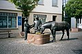 Bitburg, fountain in front of the house 1 Im Graben.jpg