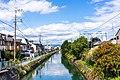 Biwako Canal Fukakusa area, Fushimi-ku, Kyoto 2019-10-07.jpg