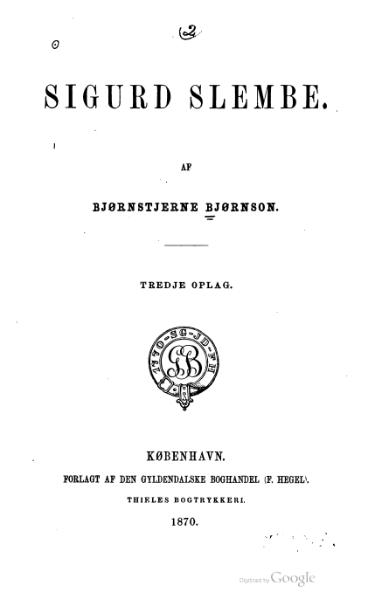 File:Bjørnson - Sigurd Slembe.djvu