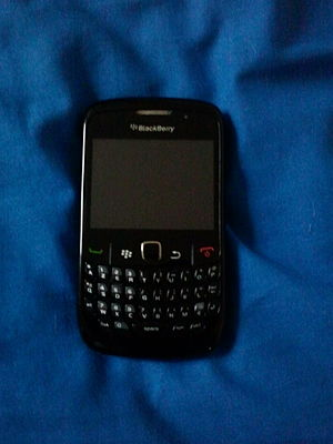 BlackBerry Curve 8520 - Image: Black Berry Curve 8520