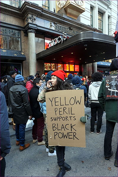 Yellow Peril Supports Black Power Black Lives Matter
