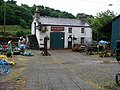Blacksmith's shop-agricultural machine display, Laxey - geograph.org.uk - 475842.jpg
