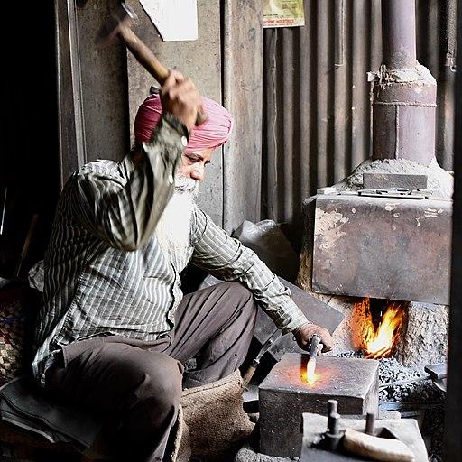 Blacksmith working 3
