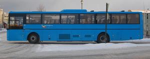 Nettbuss - A Nettbuss Trøndelag bus in Trondheim