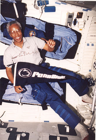 NASA Astronaut Group 8 - Guion Bluford, the first African-American in space.