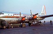 Boeing 377 Stratocruiser (B-29) American Overseas 1949-50