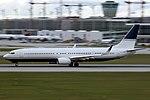 Boeing 737-9LBER (BBJ3) Dallah Al-Baraka VP-BDB (10767078823).jpg