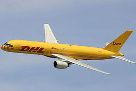 illustration de DHL Aviation